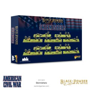 Warlord Games Black Powder Epic Battles  Black Powder Epic Battles Epic Battles: American Civil War Skirmishers - 315114012 -