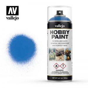 Vallejo   Spray Paint AV Spray Primer: Fantasy Color - Magic Blue 400ml - VAL28030 - 8429551280303