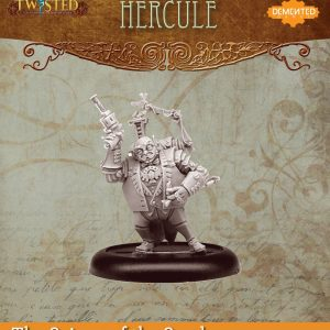Demented Games Twisted: A Steampunk Skirmish Game  Scions of the Sands Hercule (Metal) - REM003 -