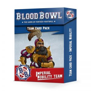 Games Workshop Blood Bowl  Blood Bowl Blood Bowl: Imperial Nobility Card Pack - 60050999002 - 5011921131778