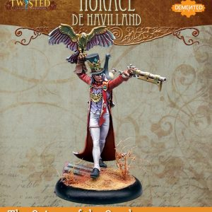 Demented Games Twisted: A Steampunk Skirmish Game  Scions of the Sands Horace De Havilland (Metal) - REM005 -