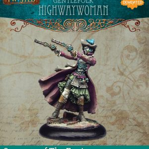 Demented Games Twisted: A Steampunk Skirmish Game  Servants of the Engine Gentlefolk Highwaywoman (Metal) - RSM102 -