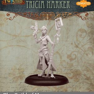 Demented Games Twisted: A Steampunk Skirmish Game  Guild of Harmony Tricia Harker (Metal) - RGM104 -
