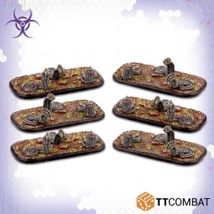 TTCombat Dropzone Commander  Scourge Infantry Scourge Razorworms - TTDZR-SCG-012 - 5060880910924