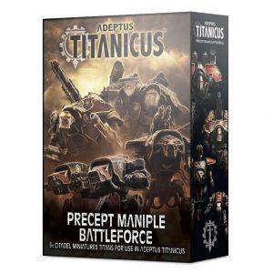 Games Workshop Adeptus Titanicus  Adeptus Titanicus Adeptus Titanicus: Precept Maniple Battleforce - 99120399021 - 5011921152742