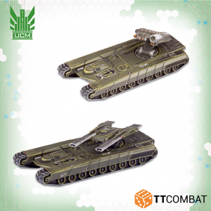 TTCombat Dropzone Commander  UCM Land Vehicles UCM Gladius Heavy Tanks - TTDZR-UCM-018 - 5060880910825
