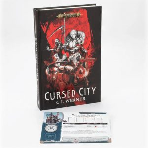 Games Workshop   Age of Sigmar Books Cursed City Novel (Hardback) - 60040281274 - 9781789992939
