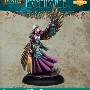 Demented Games Twisted: A Steampunk Skirmish Game  Servants of the Engine Nightingale (Resin) - RSR003 -