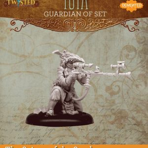 Demented Games Twisted: A Steampunk Skirmish Game  Scions of the Sands Guardian of Set Farsight Tuya (Resin) - RER106 -