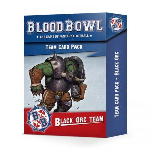 Games Workshop Blood Bowl  Blood Bowl Blood Bowl: Black Orc Team Card Pack - 60050909002 - 5011921131792