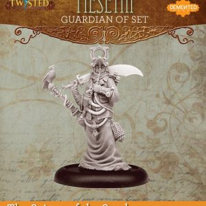 Demented Games Twisted: A Steampunk Skirmish Game  Scions of the Sands Guardian of Set Hookah Meseth (Resin) - RER105 -