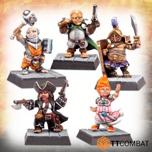 TTCombat   TTCombat Miniatures Charismatic Halfling Adventurers - TTFHR-HLF-028 -