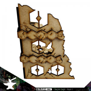 The Colour Forge   The Colour Forge Terrain Sector Sept Ruins #1 - TCF-SSR-001 - 5060843101499