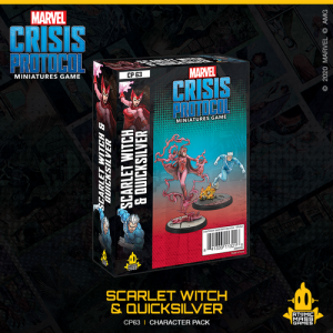 Atomic Mass Marvel Crisis Protocol  Marvel: Crisis Protocol Marvel Crisis Protocol: Scarlet Witch & Quicksilver - CP63 - 841333113216