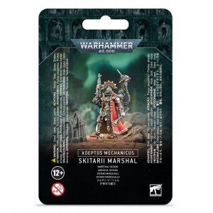 Games Workshop Warhammer 40,000  Adeptus Mechanicus Adeptus Mechanicus Skitarii Marshal - 99070116003 - 5011921128372