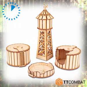 TTCombat   World War Scenics Water Storage Tanks - TTSCW-WAR-062 -