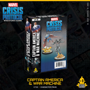 Atomic Mass Marvel Crisis Protocol  Marvel: Crisis Protocol Marvel Crisis Protocol: Captain America & War Machine - CP38 -