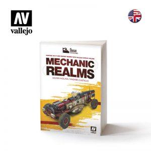 Vallejo   Painting Guides AV Vallejo Book - Mechanic Realms - VAL75018 - 9788409179923