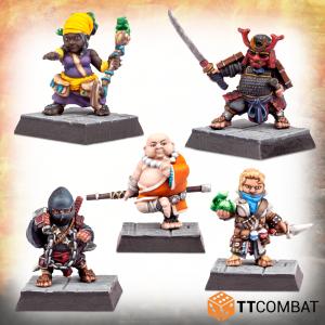 TTCombat   TTCombat Miniatures Exotic Halfling Adventurers - TTFHR-HLF-029 -