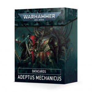 Games Workshop Warhammer 40,000  Adeptus Mechanicus Datacards: Adeptus Mechanicus - 60050116001 - 5011921134731