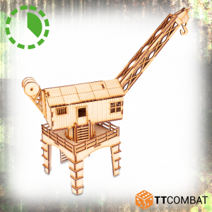 TTCombat   World War Scenics Factory Crane - TTSCW-WAR-065 -
