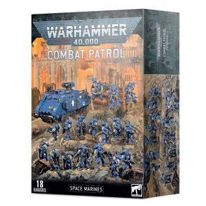 Games Workshop Warhammer 40,000  Space Marines Combat Patrol: Space Marines - 99120101280 - 5011921138555