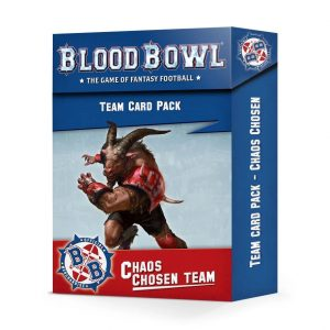 Games Workshop (Direct) Blood Bowl  Blood Bowl Blood Bowl: Chaos Chosen Team Card Pack - 60050901001 -
