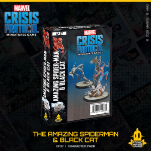 Atomic Mass Marvel Crisis Protocol  Marvel: Crisis Protocol Marvel Crisis Protocol: Amazing Spider-Man & Black Cat - CP37 -