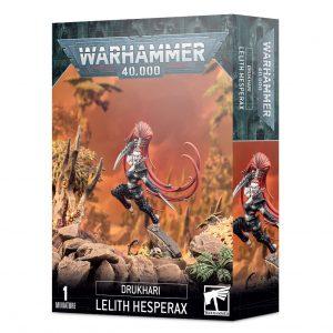 Games Workshop Warhammer 40,000  Drukhari Drukhari Lelith Hesperax - 99120112042 - 5011921138906