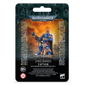 Games Workshop Warhammer 40,000  Space Marines Primaris Captain with Master-crafted Heavy Bolt Rifle - 99070101048 - 5011921138951