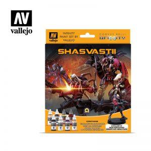 Vallejo   Model Colour AV Vallejo Model Color Set - Infinity Shasvastii Exclusive - VAL70241 - 8429551702416