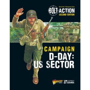 Warlord Games Bolt Action  Bolt Action Essentials Bolt Action:  D-Day The US Sector campaign book - 401010019 -