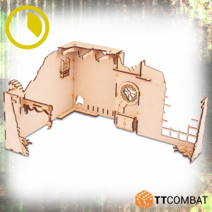 TTCombat   World War Scenics Warehouse Corner Extraction - TTSCW-WAR-059 -