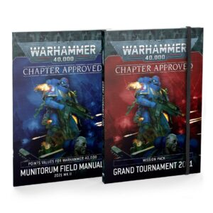 Games Workshop Warhammer 40,000  Warhammer 40000 Essentials Chapter Approved: Grand Tournament 2021 Mission Pack and Munitorum Field Manual MKII - 60040199129 - 9781839065248