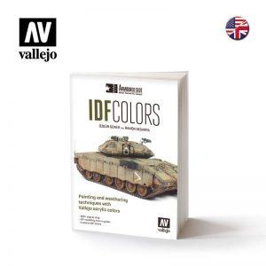 Vallejo   Painting Guides AV Vallejo Book - IDF Colors - VAL75017 - 9788409179930