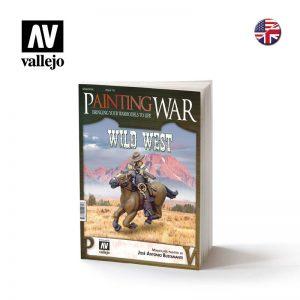 Vallejo   Painting Guides AV Vallejo Book - PaintingWAR Wild West - VALPAWA-010EN - 9788409224708