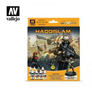 Vallejo   Model Colour AV Vallejo Model Color Set - Infinity Haqqislam Exclusive - VAL70237 - 8429551702379