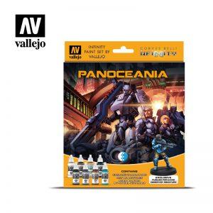 Vallejo   Model Colour AV Vallejo Model Color Set - Infinity Panoceania Exclusive - VAL70231 - 8429551702317