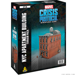 Atomic Mass Marvel Crisis Protocol  Marvel: Crisis Protocol Marvel Crisis Protocol: NYC Apartment Building Terrain - CP36 -