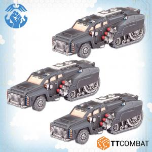TTCombat Dropzone Commander  Resistance Land Vehicles Resistance Kalium Jacksons - TTDZR-RES-034 - 5060880911419