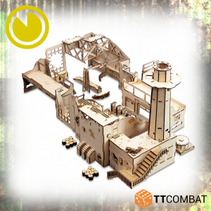 TTCombat   World War Scenics Tank Manufacturing Warehouse - TTSCW-WAR-056 -
