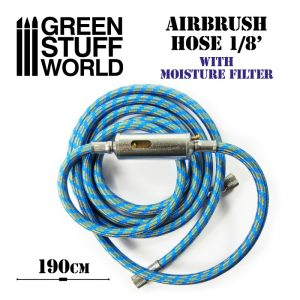Green Stuff World   Airbrushes & Accessories Airbrush Fabric Hose with Humidity Filter - 8436574509588ES - 8436574509588