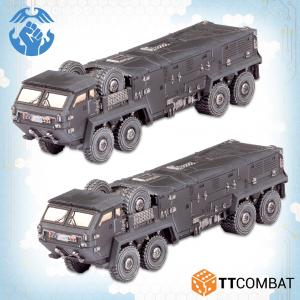 TTCombat Dropzone Commander  Resistance Land Vehicles Resistance Kalium Battle Buses - TTDZR-RES-035 -