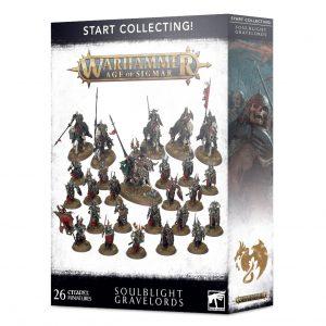 Games Workshop Age of Sigmar  Soulblight Gravelords Start Collecting! Soulblight Gravelords - 99120207096 - 5011921139095