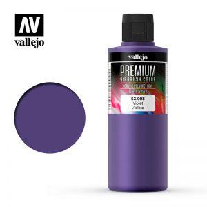 Vallejo   Premium Airbrush Colour AV Vallejo Premium Color - 200ml - Opaque Violet - VAL63008 - 8429551630085