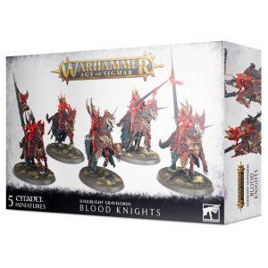 Games Workshop Age of Sigmar  Soulblight Gravelords Soulblight Gravelords Blood Knights - 99120207095 - 5011921139088