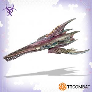 TTCombat Dropfleet Commander  The Scourge Fleet Scourge Shadow Battlecruiser - TTDFR-SCG-008 - 5060880911617