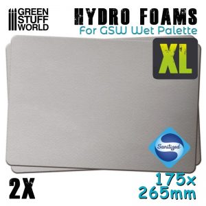 Green Stuff World   Paint Palettes Hydro Foams XL x2 - 8436574508246ES - 8436574508246