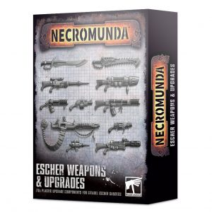 Games Workshop Necromunda  Necromunda Necromunda: Escher Weapons & Upgrades - 99120599026 - 5011921139392