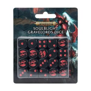 Games Workshop Age of Sigmar  Games Workshop Dice Soulblight Gravelords Dice Set - 99220207008 - 5011921143986